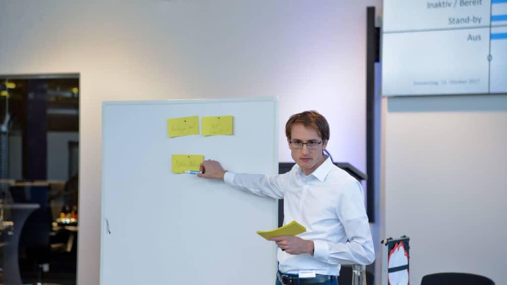 Workshopleiter Konstantin Kernschmidt