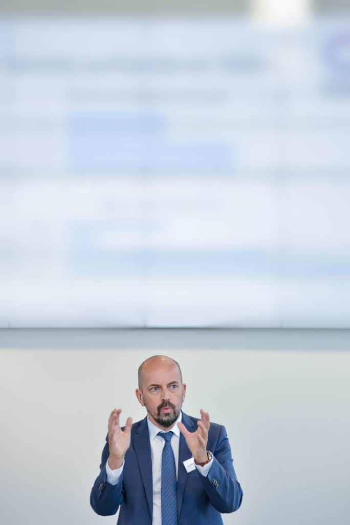 Igor Mikulina, Verbandsvorsitzender des Industry Business Network 4.0 e.V.