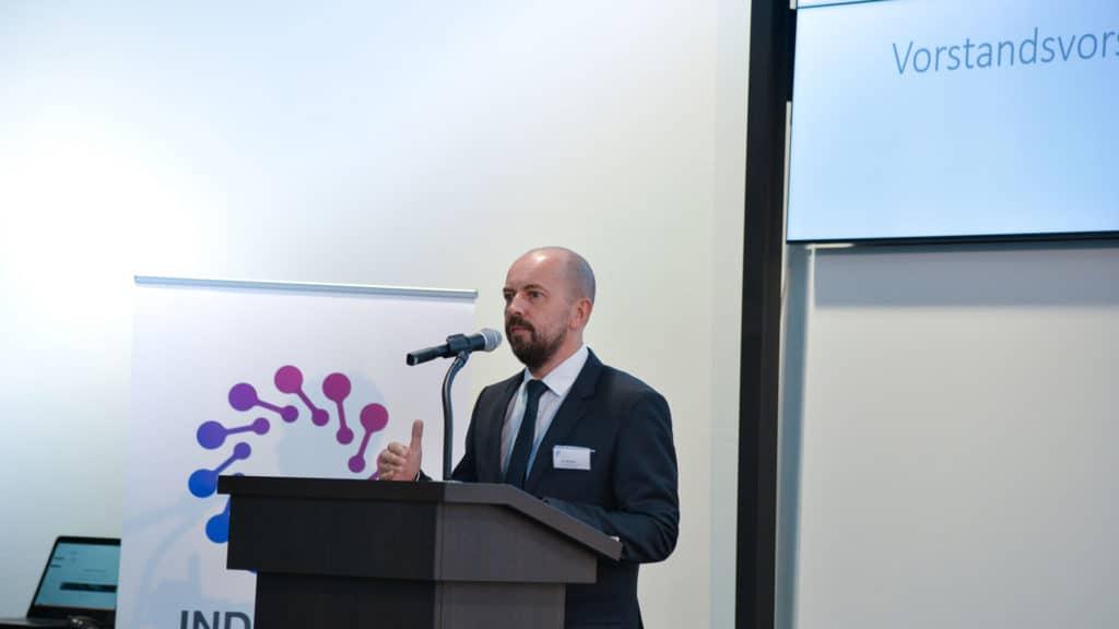 Igor Mikulina, Vorstandsvorsitzender des Verbands Industry Business Network 4.0